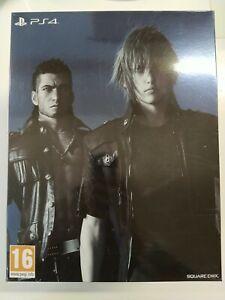 Coffret Vide Final Fantasy XV FF15 PS4 Ultimate Collector + Cartes Postales
