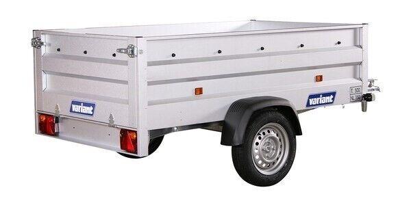 Ladtrailer, Variant 220 XL, lastevne (kg): 350