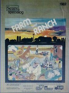 Details about Sears 1982 Suburban Farm Catalog Color Garden Tractor Lawn  Tiller FF24 FF20 FF18