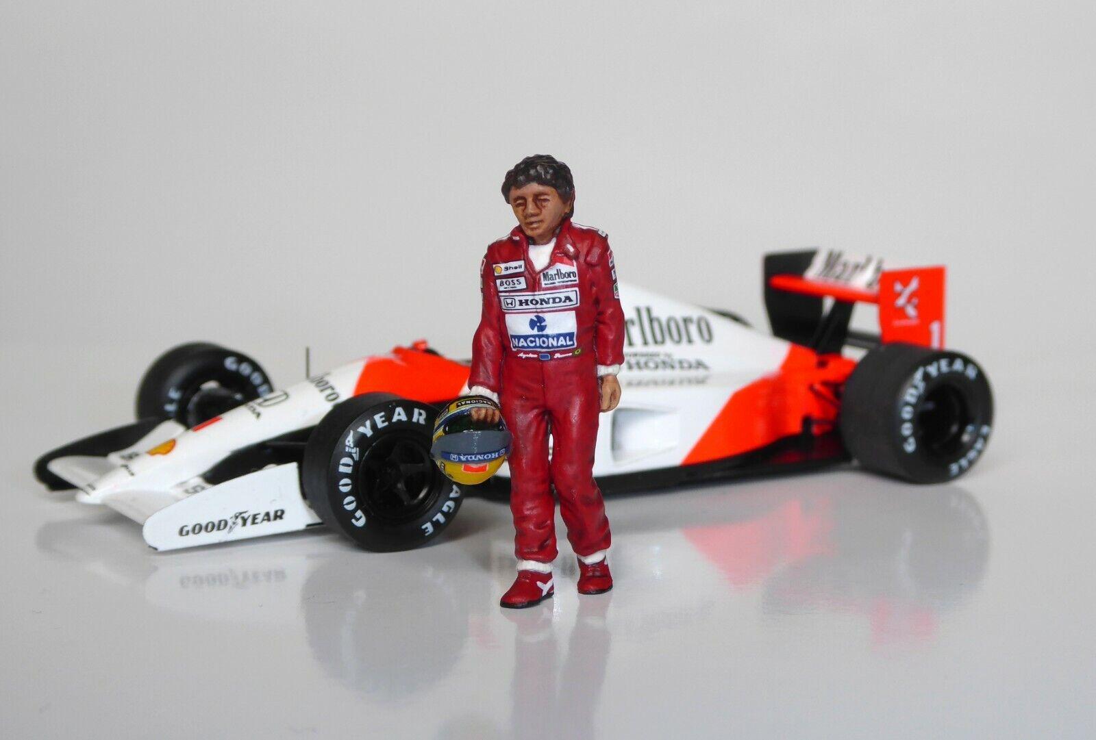 1 43  Ayrton Senna McLaren Honda figurine figure en marchant 1988 1990 1991 1992 1993  marques de créateurs bon marché