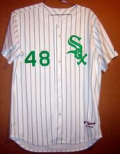 CHICAGO WHITE SOX JEFF MARQUEZ ST. PATRICKS DAY MLB JERSEY