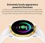 Senora-dorado-c19-Bluetooth-reloj-redondo-display-Android-iOS-Samsung-iPhone-IP miniatura 5