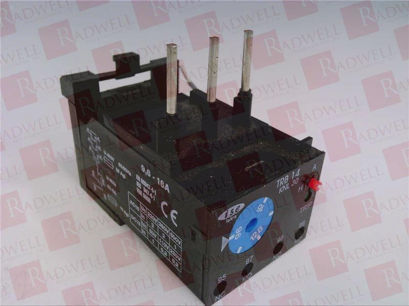 ISKRA TRB14 KNL30 9.6-16A   TRB14KNL309616A (NEW NO BOX)