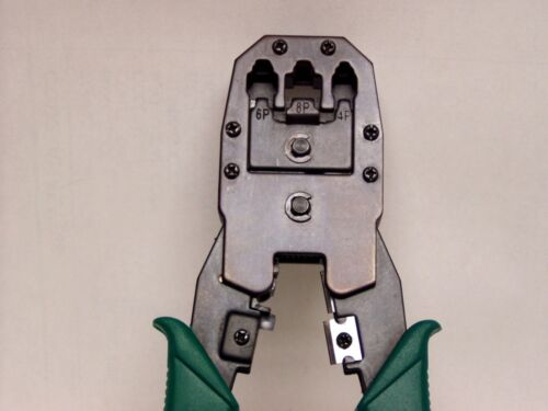 RJ11 RJ12 Works on CAT5 cable and others Crimp Tool for RJ45