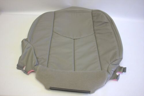 2003 To 2007 Chevy Silverado PASSENGER Bottom Leather Seat Cover Gray