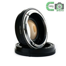 for Canon FD Lens to Sony NEX A6300  NEX7 Focal Reducer Speed Booster Adapter
