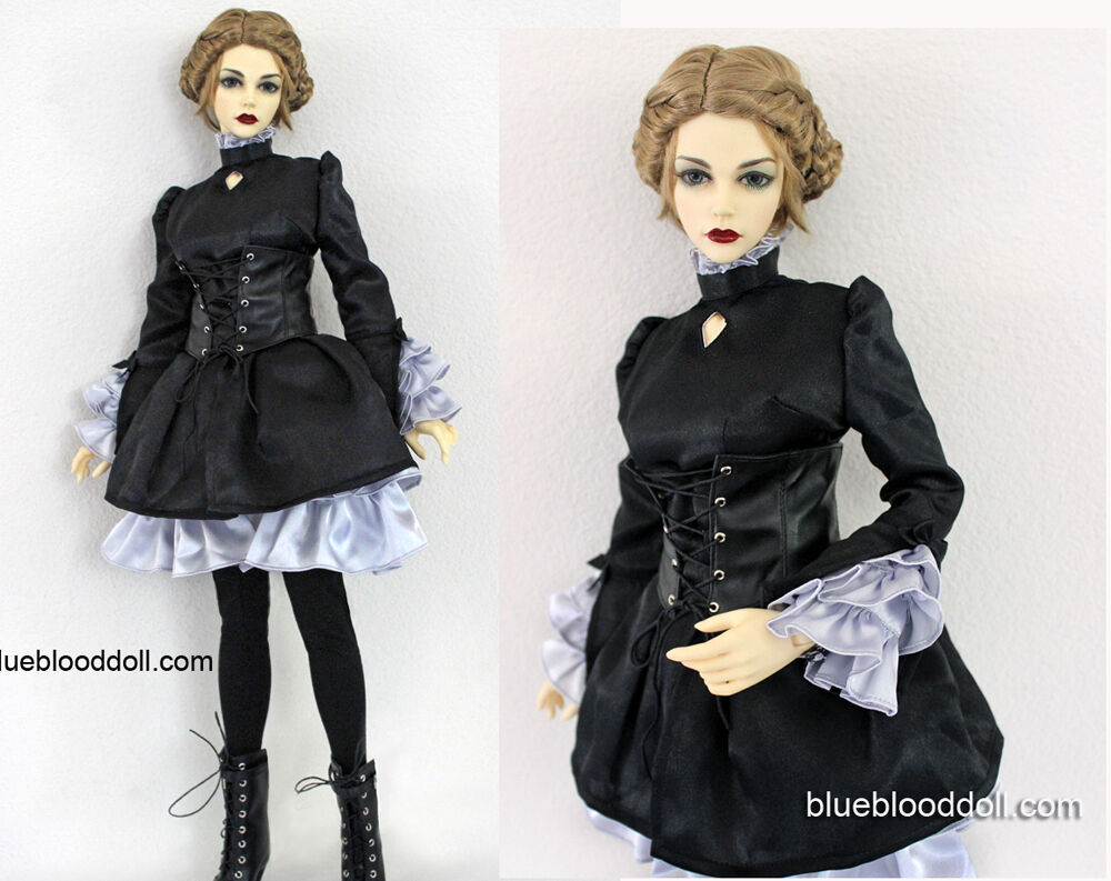 1/3 Bjd 62-65cm Weiblich Puppe Kleidung Outfit Iplehouse Eid Sid Kleid Set