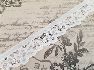 Cream Crochet Lace Trim Trimming Edging Fifteen mm Width Please Choose Length