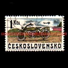 ITAR JANATKA PRAHA 1921 CESKOSLOVENSKO TCHECOSLOVAQUIE Timbre Poste Moto Stempel