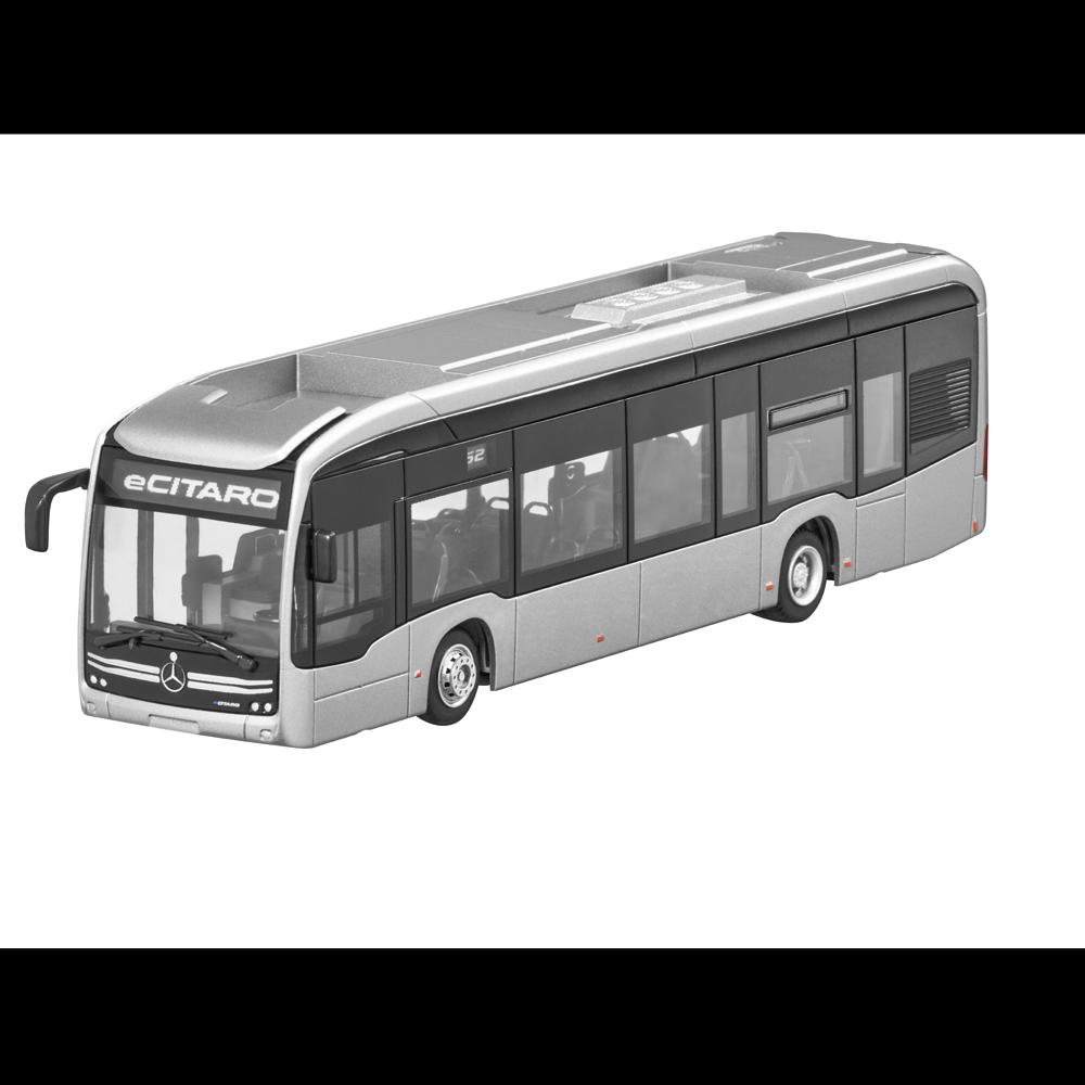 Mercedes Benz Modèle Set Bus ecitaro & Citaro Hybride Argent RIETZE 1 87 nouveau neuf dans sa boîte