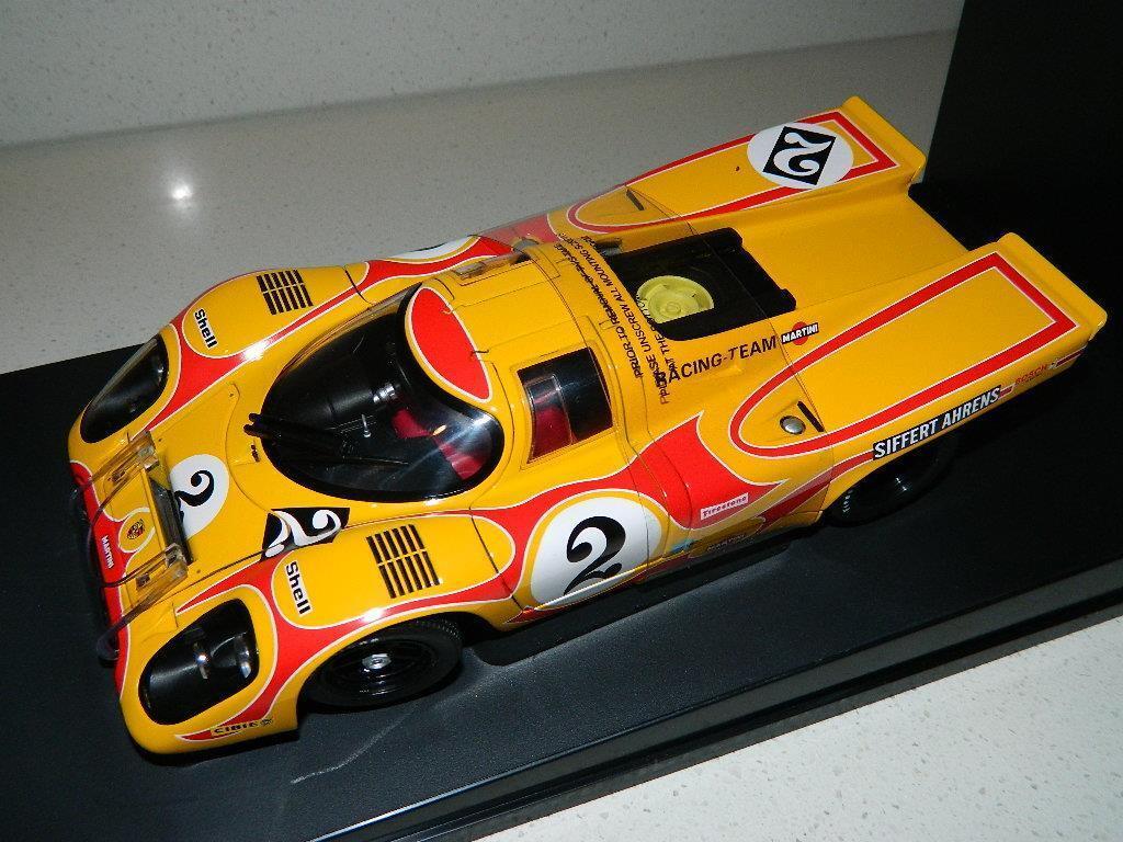 Autoart'70 Porsche 917K Siffert Ahrens Martini Racing Team 1 18 Nuevo En Caja