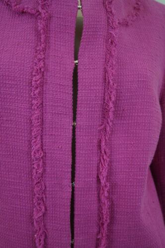 à rond Studio et mélange texturé de Veste de Maxmara coton blazer col ZpRfIEq