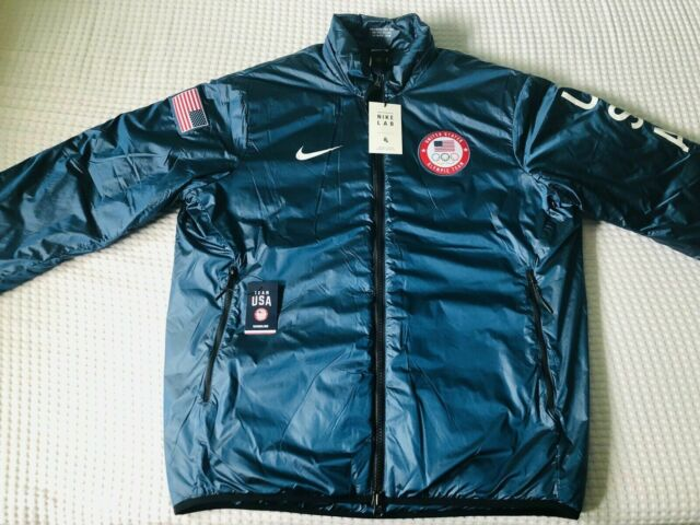 calcular moverse Desmenuzar  $300 Nike NikeLab Team USA Winter Olympic Jacket 916645-474 Summit Blue XXL  2XL for sale online
