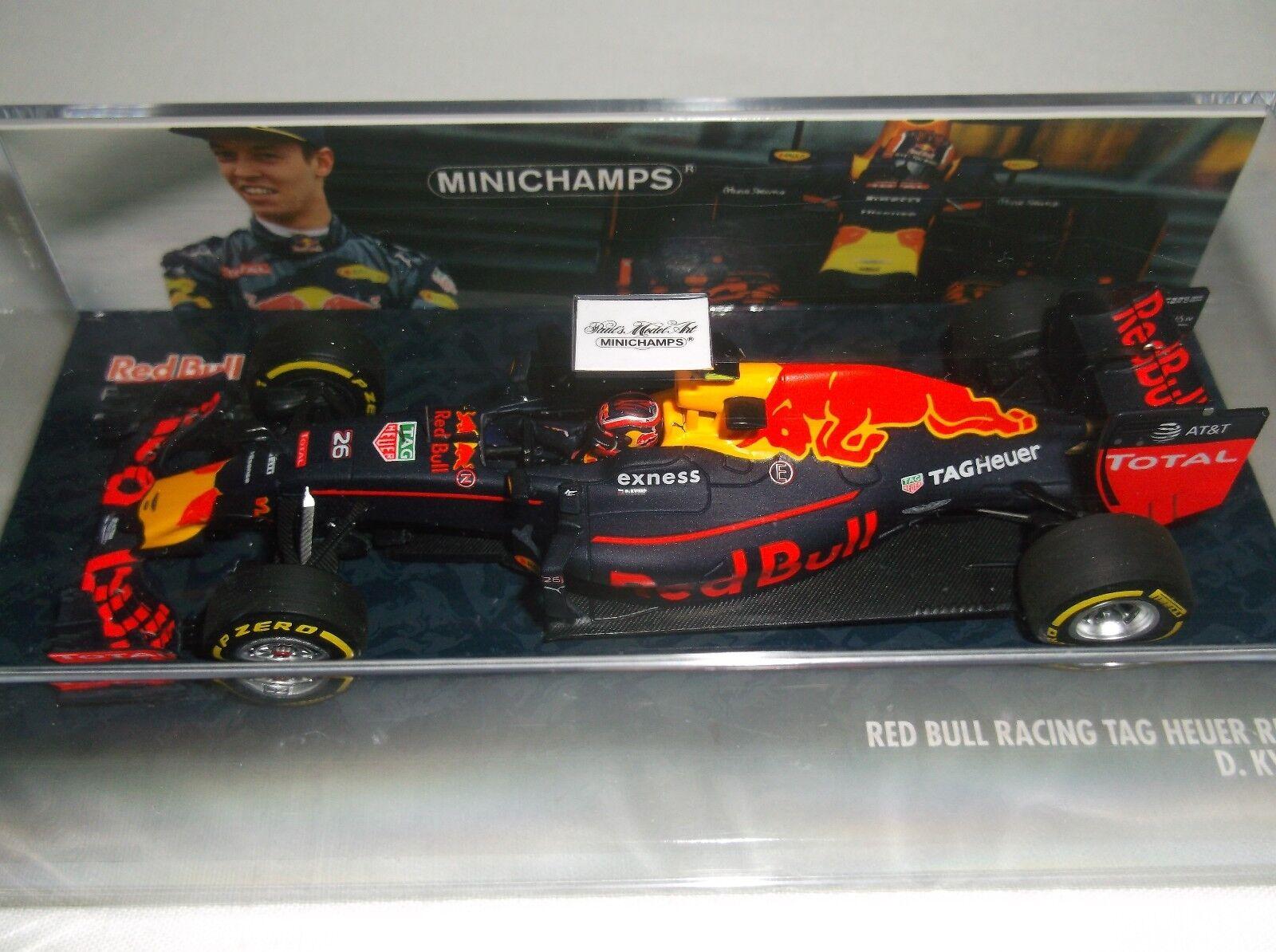 MINICHAMPS 1 43 Red Bull RB12 - KVYAT