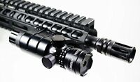 High Powered Tactical Green Laser With Picatinny Rail Mount By Ozark Armament