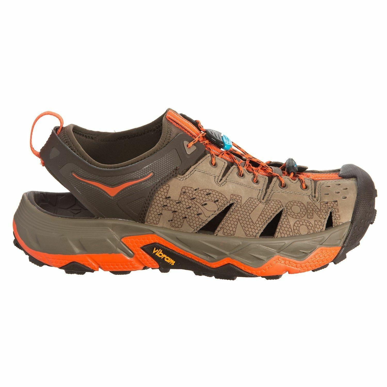 Hoka One One Tor Trafa Sandals Hiking schuhe Brindle rot Orange  Mens Sz 9.5