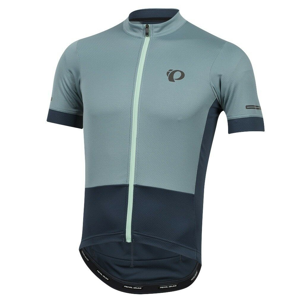 Pearl Izumi 2018 Elite Cycling Escape Bike Bicycle Cycling Elite Jersey Arctic/Navy - Small 0669be
