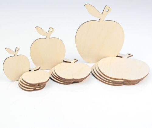 Holzern Apfel Form Basteln Hängende Etikett Dekoration Liebe Karte Machen