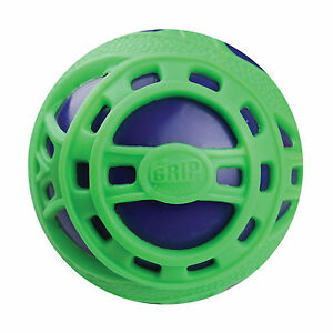 NEW-BRITZ-039-N-PIECES-E-Z-GRIP-BALL-JR-GREEN-BLUE-BMA859-OUTDOOR-TOYS-BALLS