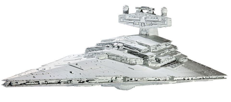 Sternenzerstörer Modellbausatz Modellbausatz Modellbausatz 1 2700 Star Wars, Revell Imperial Star Destroyer  | Outlet Online  091056