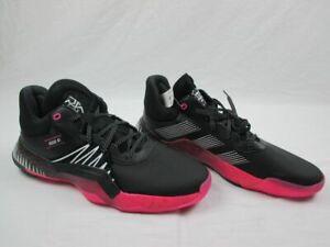 Black/Pink/White Basketball Shoes