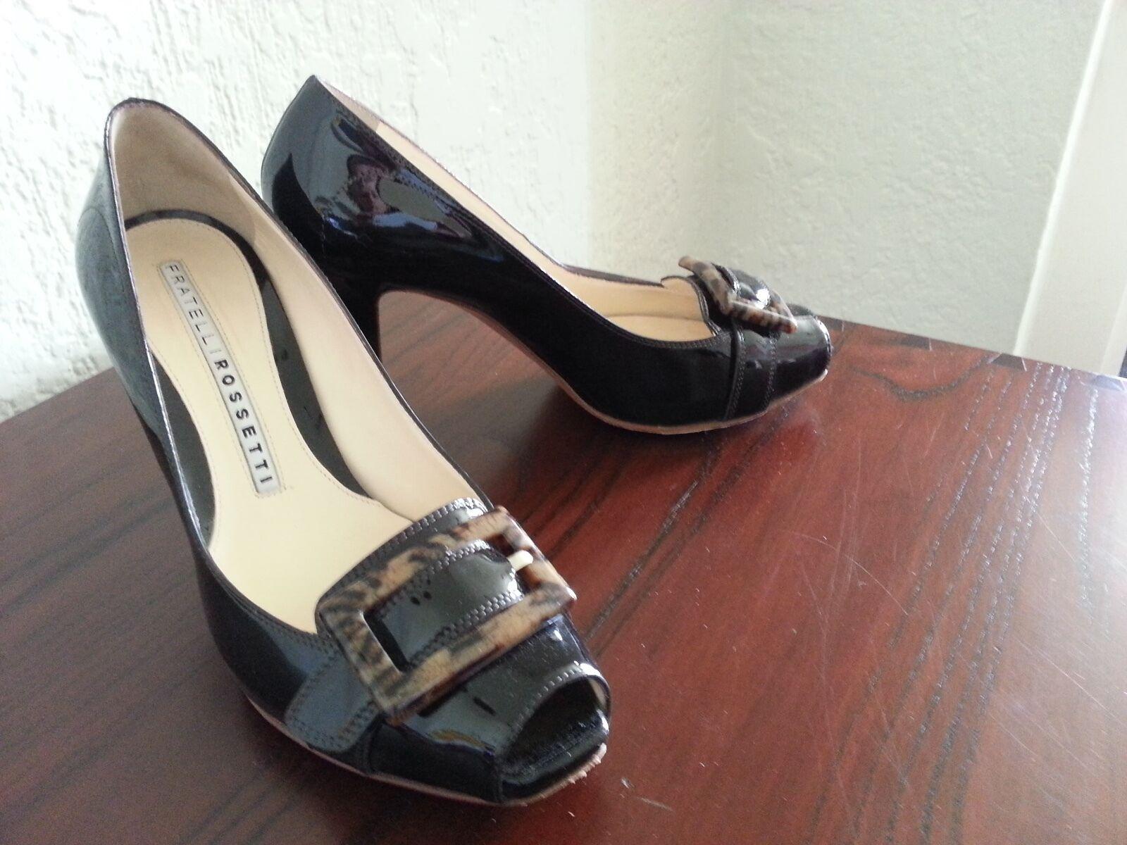 shopping online di moda Fratelli Rossetti Peep-toe Pumps, Pumps, Pumps, Dimensione 38.5 (8.5)  protezione post-vendita