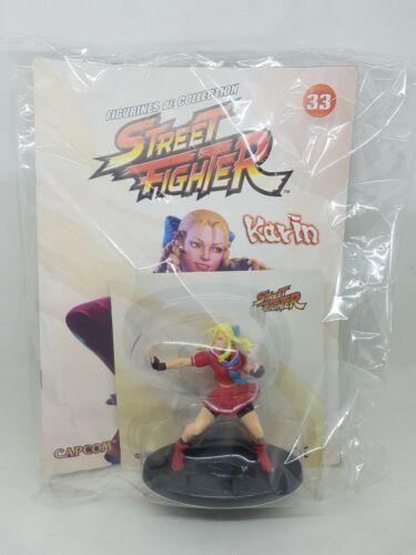 Figurine Street Fighter KARIN 10 cm capcom neuf sous blister altaya