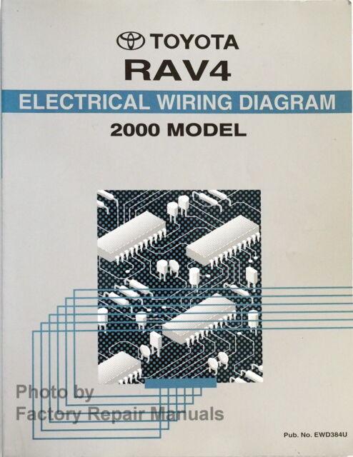 2000 Toyota Rav4 Electrical Wiring Diagrams Original