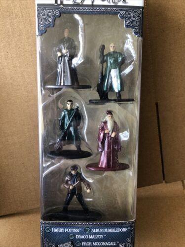 Albus Dumbledore Harry Potter Nano metalfigs 5 Pack-Harry Potter Draco Malfoy