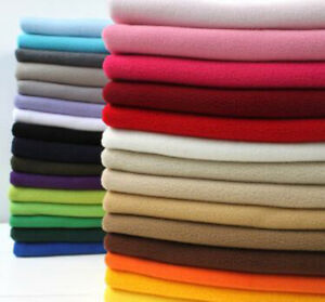 37a6572d84f7f One PCS Polar Fleece Fabric Pre-Cut Fabric For Garment lining Short ...