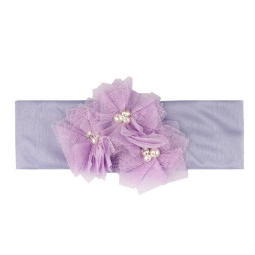 Fashion Cute Baby Kids Unisex Cotton Hairband Headband Turban Knot Head Wraps
