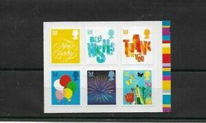 GB-2006-Smilers-Occasions-Booklet-Stamp-set-SG-2672-77-u-m