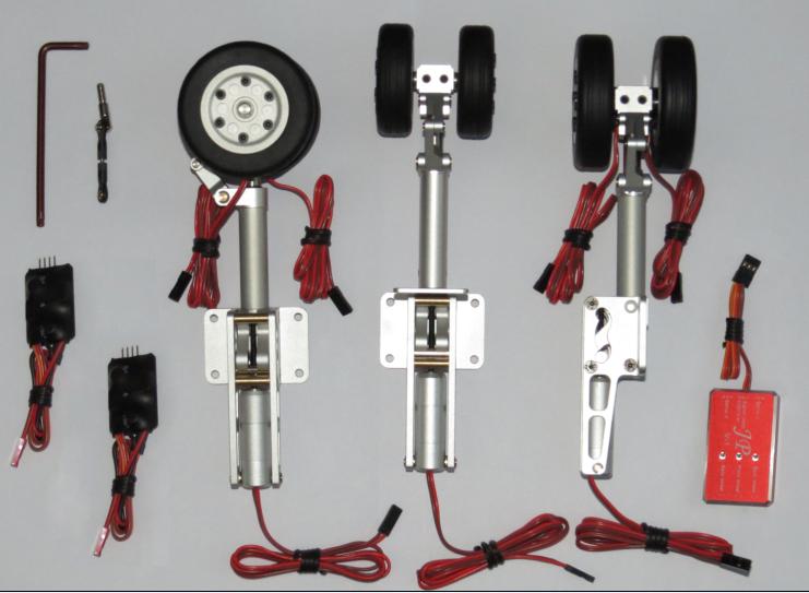 JP Hobby eléctrico se retrae con frenos sistema para pasajero avión Nuevo En Caja
