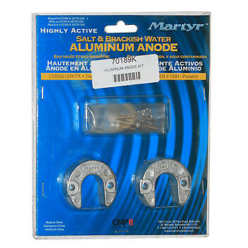 Anode,Trim Ram Kit  Alpha Gen II Aluminum Salt//Brackish 1991-Up 806189Q 1