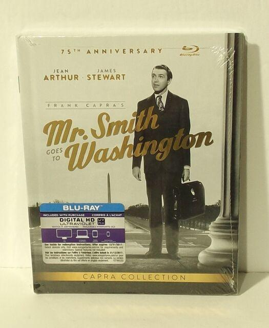 NEW Mr. Smith Goes To Washington DIGIBOOK (4K, Blu-ray Disc, ULTRAVIOLET 2014)