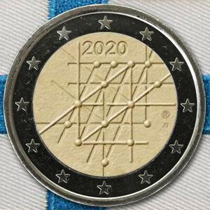2-Euro-Munze-Coin-Gedenkmunze-Finnland-100-Jahre-Universitat-Turku-2020-unc-ST