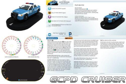 GCPD CRUISER V004 Batman DC HeroClix Vehicle