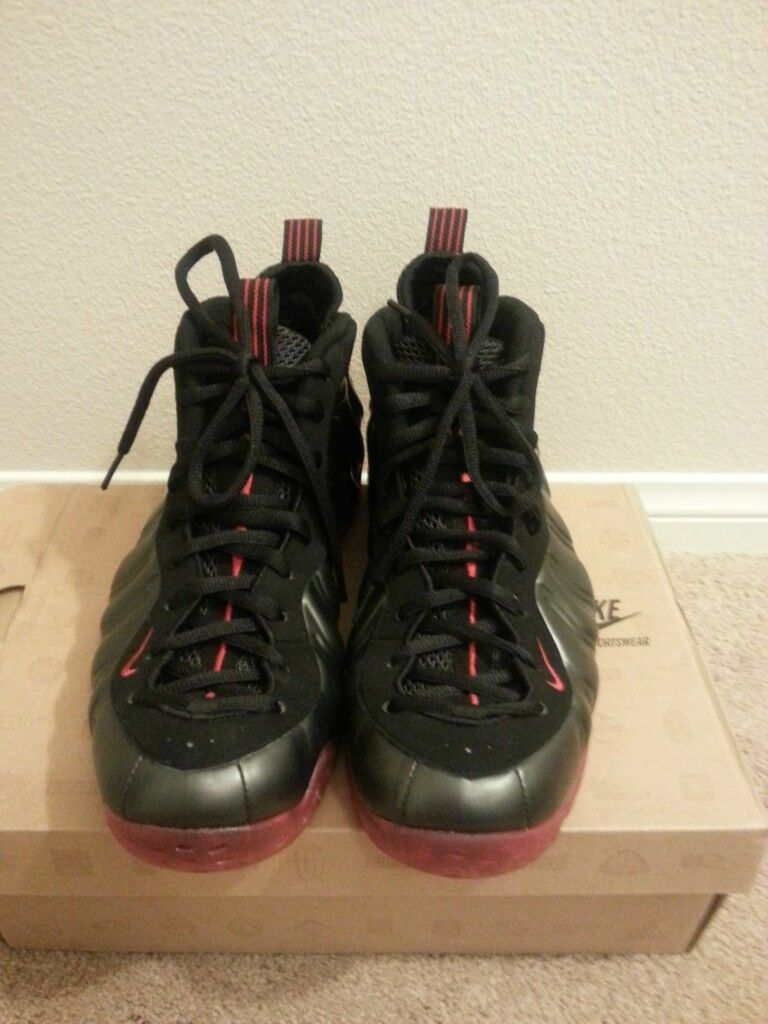 nike RED air foamposite one bLACK/VARSITY RED nike a4d87f