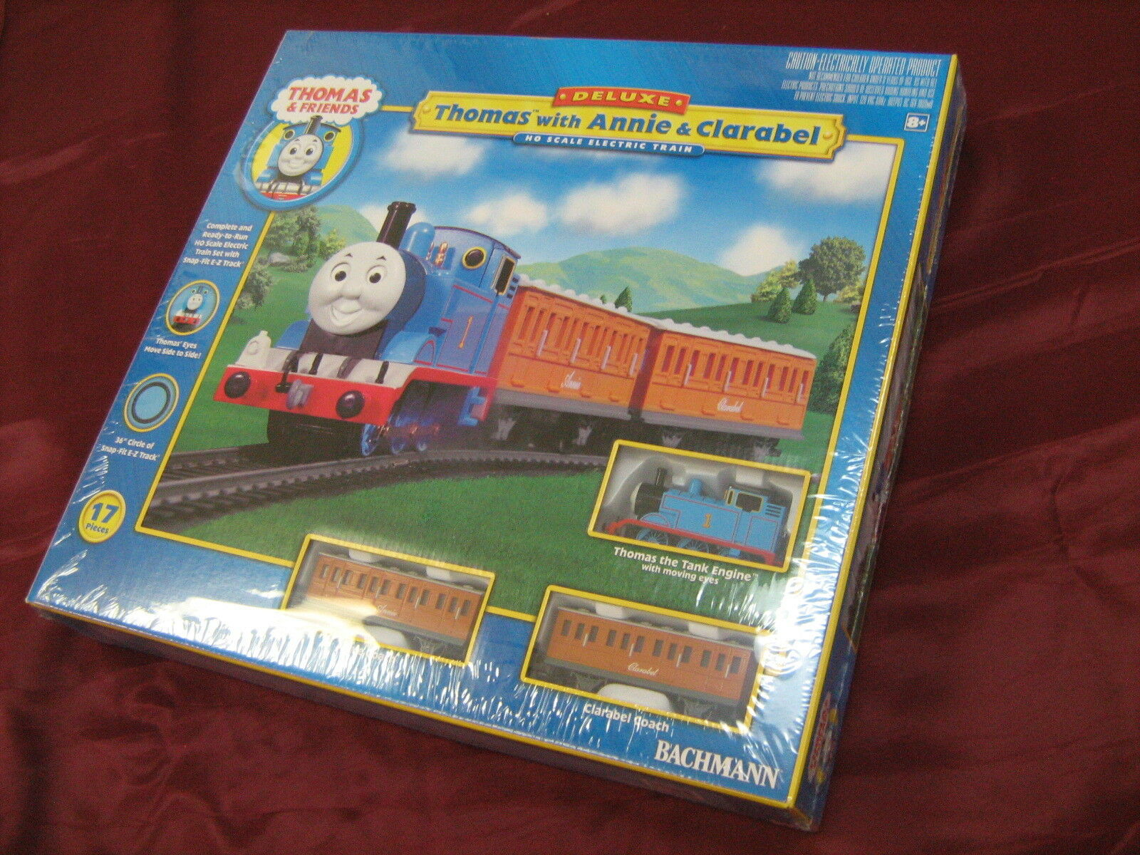 TRAIN HO THOMAS W  ANNIE & CLARABEL SET AA00642 TOY HOBBY PLAY GIFT KIDS NEW