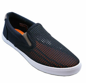 MENS-BLACK-FLAT-CASUAL-SLIP-ON-PLIMSOLL-PUMPS-HOLIDAY-COMFY-SHOES-SIZES-6-11