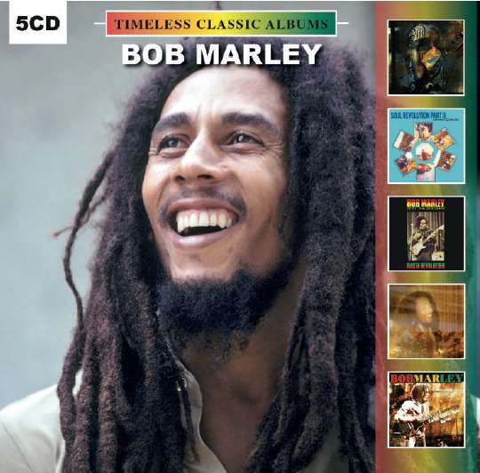 Bob Marley 5 Timeless Classic Albums - (5 CD) NEW & SEALED