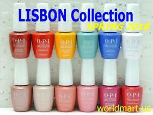OPI-GELCOLOR-UV-LED-15ml-0-5fl-oz-LISBON-Collection-SPRING-2018-Choose-Any-Color