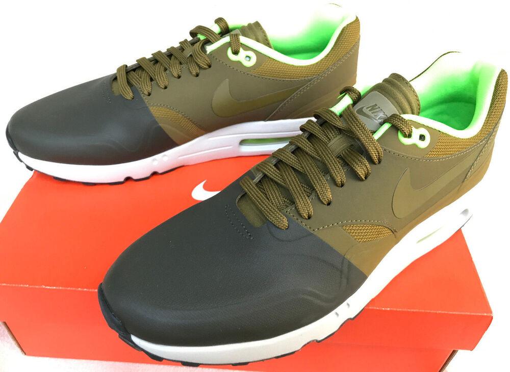 Nike Air Max 90 Cuir Blanc Entièrement neuf dans sa boîte  302519-113  Taille UK 8.5 - 12-