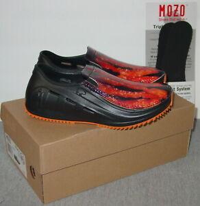 MOZO-Sharkz-Black-Bacon-Shoes-5-6-7-Women-039-s-Slip-On-Comfort-Work-New