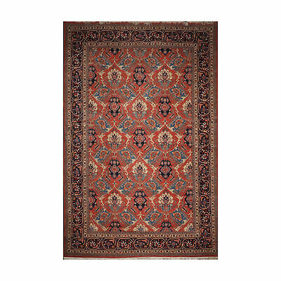 12 2 X 17 10 Palace Hand Knotted Romanian Herizz 150 Kpsi Area Rug Teracotta Ebay