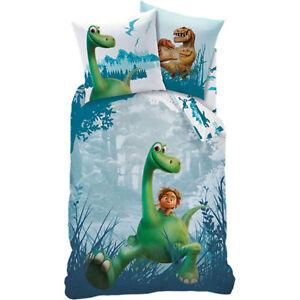 Disney Kinder Jungen Bettwasche Dino Dinosaurier 2 Tlg 80x80