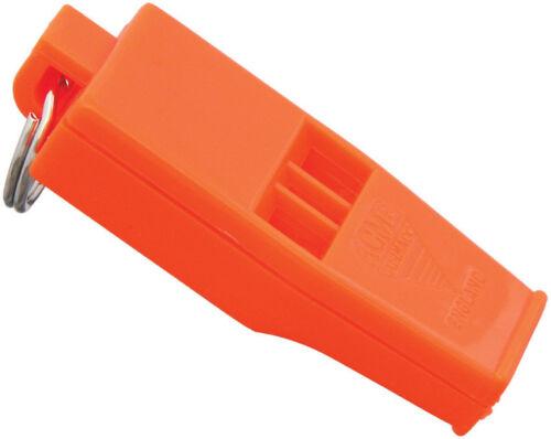 ACME Tornado Slimline Whistle Orange used in FIFA Champions League Matches
