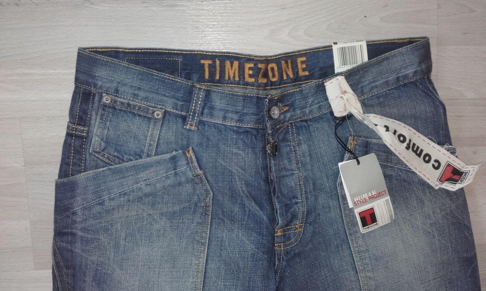 TIMEZONE Human Project Project Project Style Jeans Dimensione 36 34 nuovo mai usato imballo originale Manalo PANTS ac163e