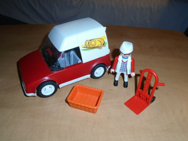 Playmobil 4411 bakery delivery car not complete se my other store city life set