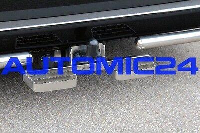 Trittbretter Anhängerkupplung AHK für Peugeot Boxer Breite 60cm Edelstahl